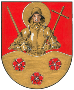 Rieseler Wappen mit dem Hl. St. Georg