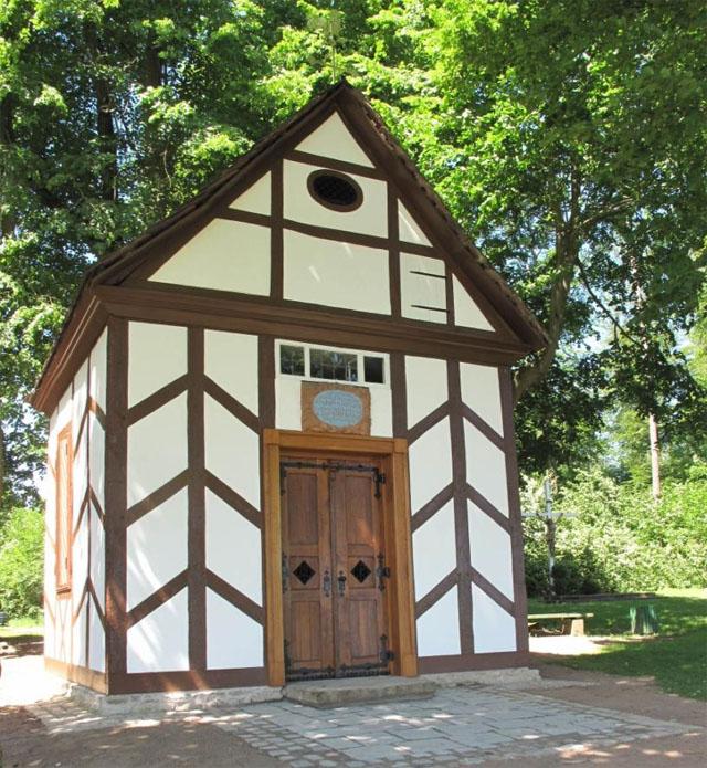 """Kapelle """"Mariä-Heimsuchung"""" in Riesel"""